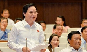 Bộ trưởng cam kết minh bạch chi phí làm chương trình giáo dục phổ thông