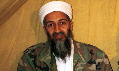 Hình ảnh trùm khủng bố al-Qaeda Osama bin Laden. Ảnh: AP.