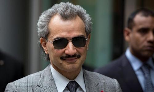 Hoàng tử Al-waleed bin Talal hồi năm 2013. Ảnh: Reuters.