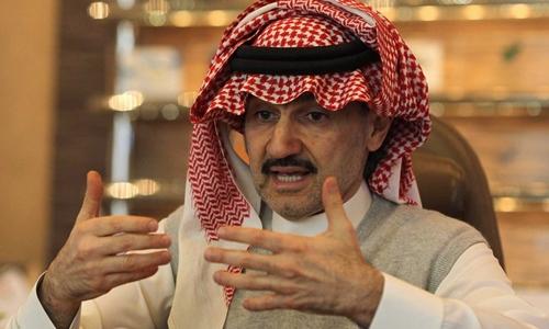 Hoàng tử Arab Saudi al-Waleed bin Talal. Ảnh: Reuters.