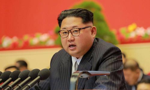 Nhà lãnh đạo Triều Tiên Kim Jong-un. Ảnh: Reuters/KCNA.