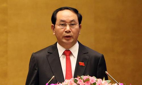 Chủ tịch nước Trần Đại Quang. Ảnh: TTXVN.