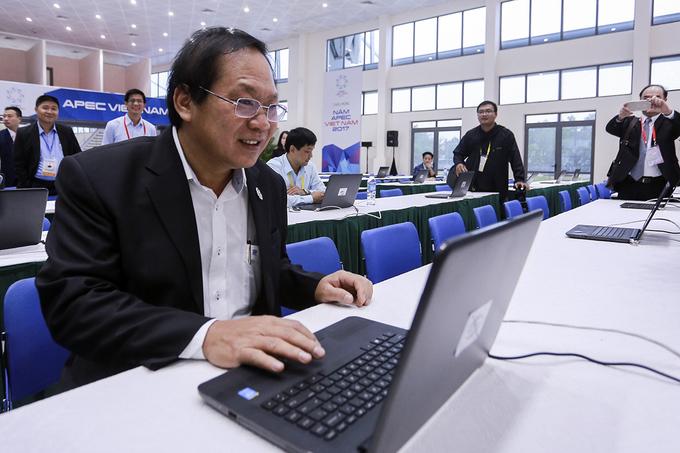 Bộ trưởng Trương Minh Tuấn thị sát hạ tầng thông tin APEC