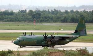 Vận tải cơ C-130 của quân đội Hàn Quốc tại Đà Nẵng