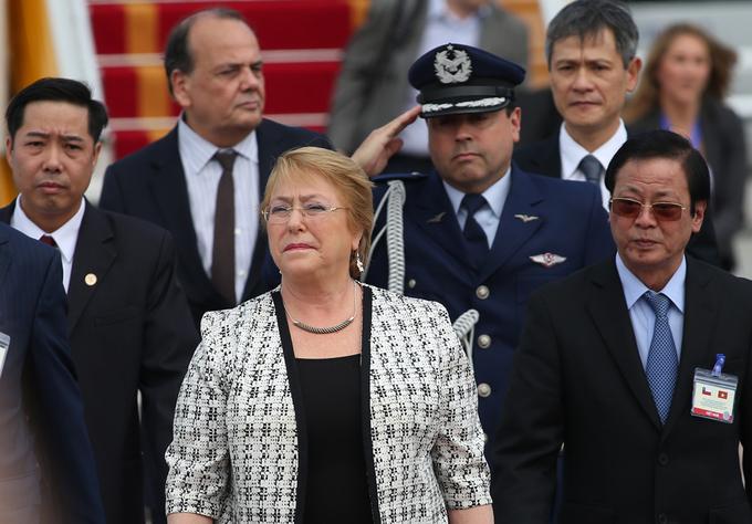 Hình ảnh đầu tiên của Tổng thống Chile tại Hà Nội