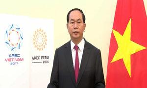 Chủ tịch nước Trần Đại Quang phát biểu tại CEO Summit