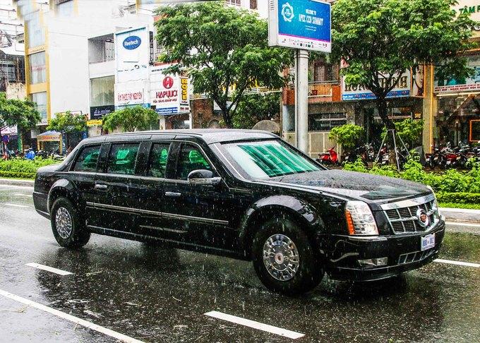 'Quái thú' của Tổng thống Mỹ trên đường phố Đà Nẵng
