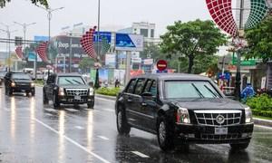 Siêu xe Cadillac The Beast của Tổng thống Mỹ đến Đà Nẵng