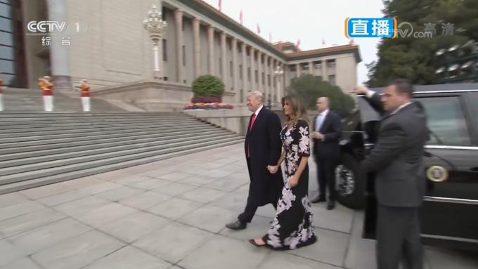 Trung Quốc bắn đại bác chào đón ông Trump