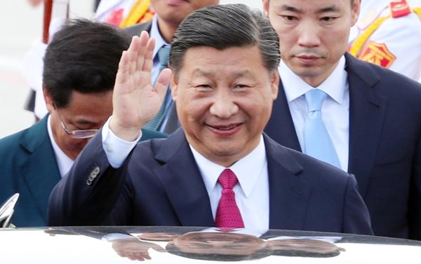 Chủ tịch Trung Quốc Tập Cận Bình. Ảnh: Đức Đồng.