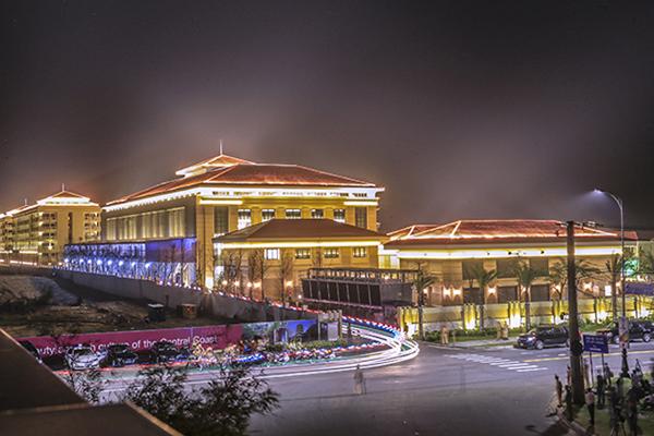 Địa điểm diễn ra tiệc chiêu đãi các lãnh đạo tham dự Hội nghị Thượng đỉnh APEC 2017. Ảnh: Nguyễn Đông.