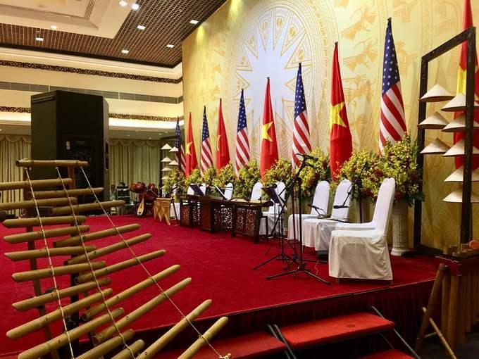 Bữa tiệc Tổng thống Trump được thết đãi ở Việt Nam