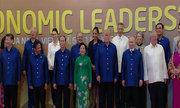 Lễ đón lãnh đạo các nền kinh tế dự Hội nghị Cấp cao APEC