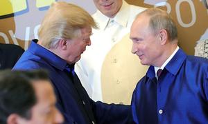 Trump tin Putin không can thiệp vào bầu cử Mỹ