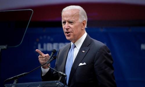Cựu phó tổng thống Mỹ Joe Biden trong một sự kiện ở bang Pennsylvania ngày 16/10. Ảnh: Reuters.