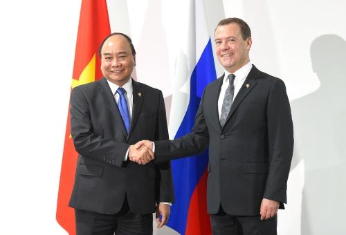 Thủ tướng cám ơn Nga hỗ trợ nạn nhân bão Damrey