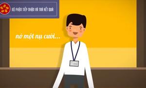 Đăk Lăk làm video kêu gọi công chức 'nở nụ cười' khi tiếp dân