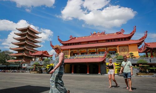 Ngôi chùa đặt xá lợi trái tim hòa thượng Thích Quảng Đức