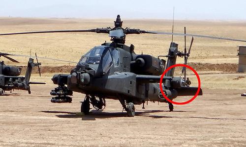 Hệ thống 'chọc mù' tên lửa vác vai trên trực thăng Mỹ ở Syria