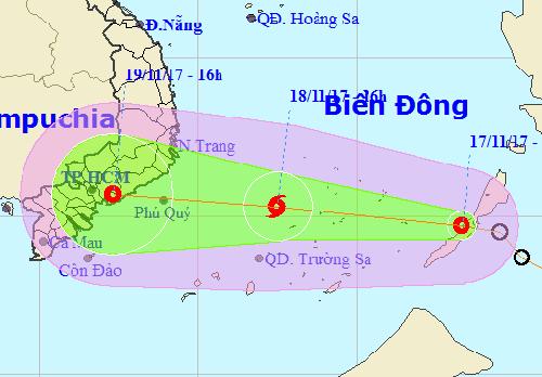 TP HCM họp khẩn đối phó áp thấp sắp mạnh thành bão