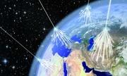 Tia vũ trụ mang phản vật chất dội xuống Trái Đất