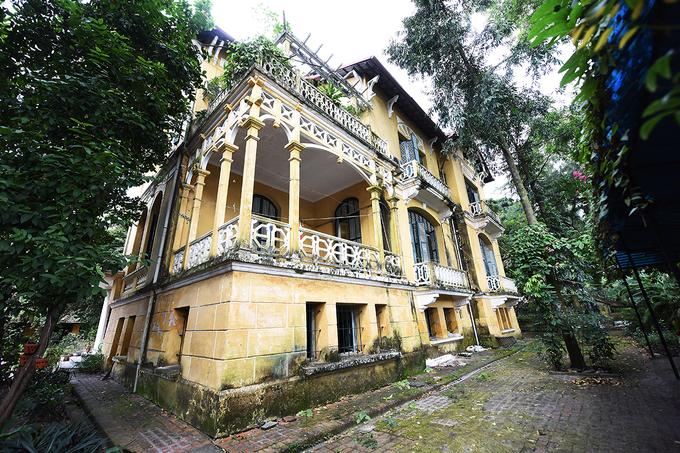 Biệt thự 3.000m2 trung tâm Hà Nội của nhà tư sản Trịnh Văn Bô