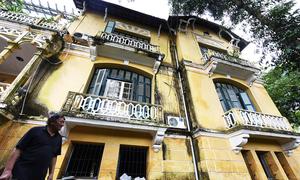 Biệt thự Pháp 3.000 m2 của nhà tư sản Trịnh Văn Bô