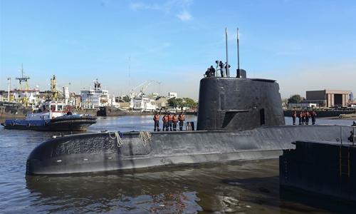 Tàu ngầm Argentina mất tích có thể gặp sự cố khi liên lạc lần cuối