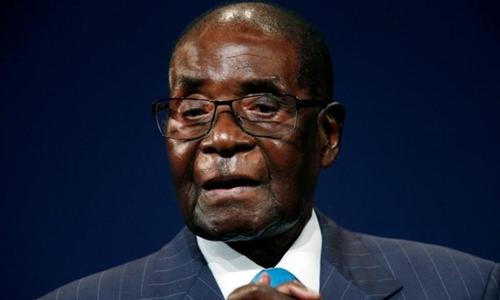 Tổng thống Zimbabwe Robert Mugabe hồi tháng 5/2017. Ảnh: Reuters.