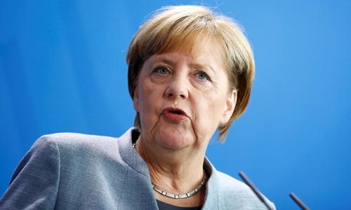 Thủ tướng Đức Angela Merkel. Ảnh: Reuters.