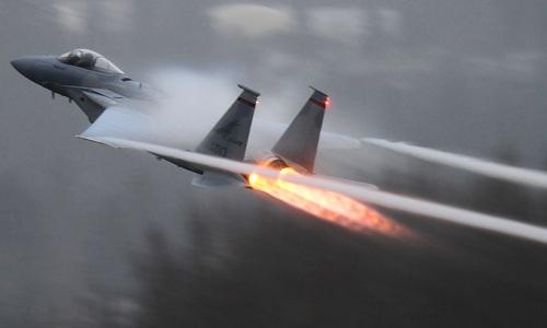 Phi cơ lạ khiến tiêm kích F-15 Mỹ mất dấu