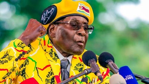 Tổng thống Zimbabwe Robert Mugabe. Ảnh: RTE.