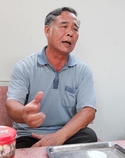 Thượng tá Đinh Kỳ Đáp - Trưởng ban chuyên án cũng bị kiểm điểm trong đợt này. Ảnh: Phước Tuấn