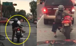Bí kíp đi xe phân khối lớn của biker chân ngắn