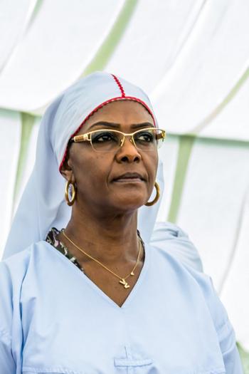 Đệ nhất phu nhân Grace Mugabe. Ảnh: AFP.