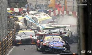 Tai nạn liên tiếp trên đường đua Macau, tay đua Anh tử nạn