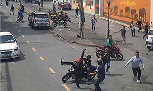 Cuộc vây bắt băng trộm cướp chuyên nghiệp trên phố Sài Gòn