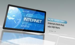 Internet Việt Nam thay đổi thế nào sau 20 năm