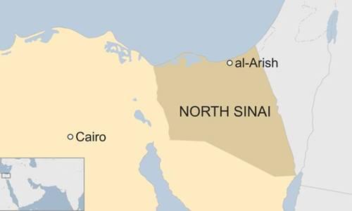 Khu vực xảy ra vụ tấn công. Đồ hoạ: BBC