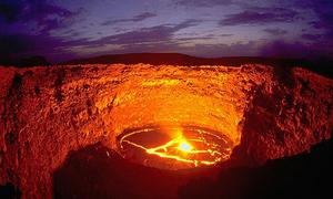Hồ dung nham được mệnh danh 'cổng địa ngục' ở Ethiopia