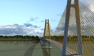 Hơn 5.000 tỷ đồng xây cầu Mỹ Thuận 2 trên sông Tiền