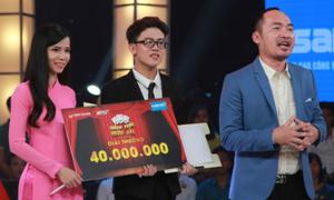 Cặp đôi đem Trấn Thành, Trường Giang ra 'vành móng ngựa' thắng 40 triệu đồng