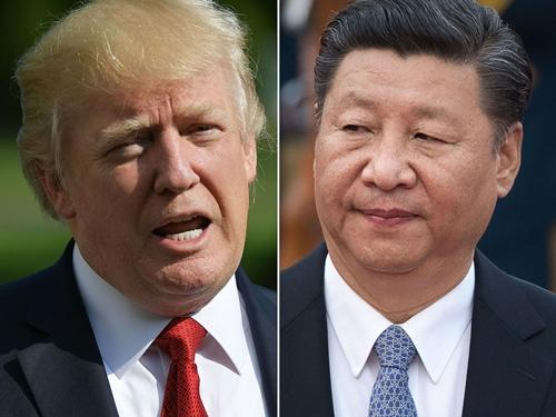 Tổng thống Mỹ Donald Trump và Chủ tịch Trung Quốc Tập Cận Bình. Ảnh: