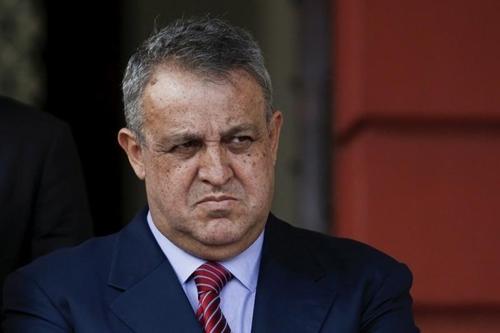 Eulogio del Pino, cựu bộ trưởng dầu mỏ Venezuela. Ảnh: Reuters.