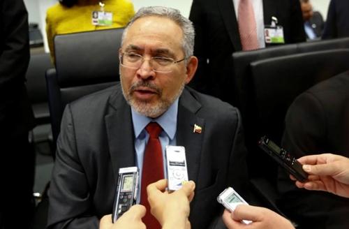 Cựu giám đốc công ty dầu mỏ quốc gia Venezuela PDVSA Nelson Martinez. Ảnh: Reuters.