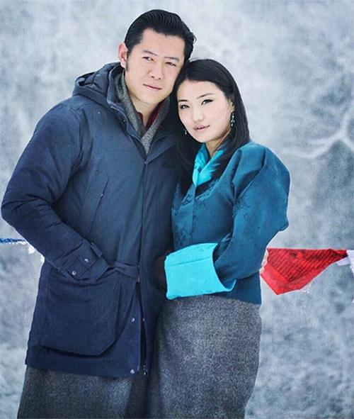 Hoàng hậu trẻ nhất thế giới ở Bhutan