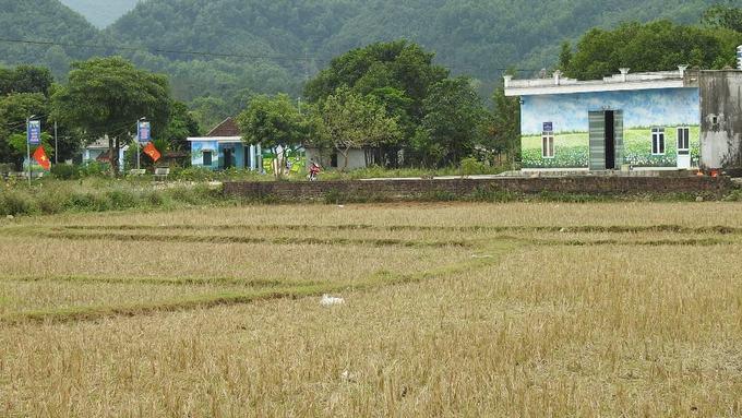 Ngôi làng bích họa ở vùng biên