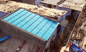 Mái nhà siêu bền làm từ rác thải ở Ấn Độ