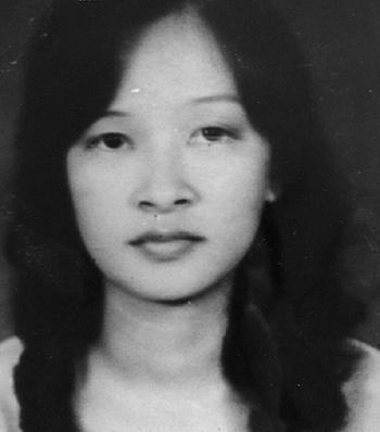 Bà Nguyen Thi Le Hoa, mẹ của Amy. Ảnh: NVCC