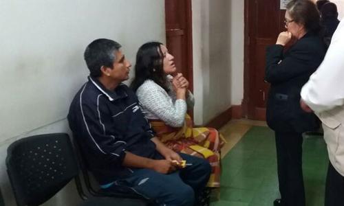 Cô Monica Palomino (thứ hai, trái sang). Ảnh: Sasulud Peru.